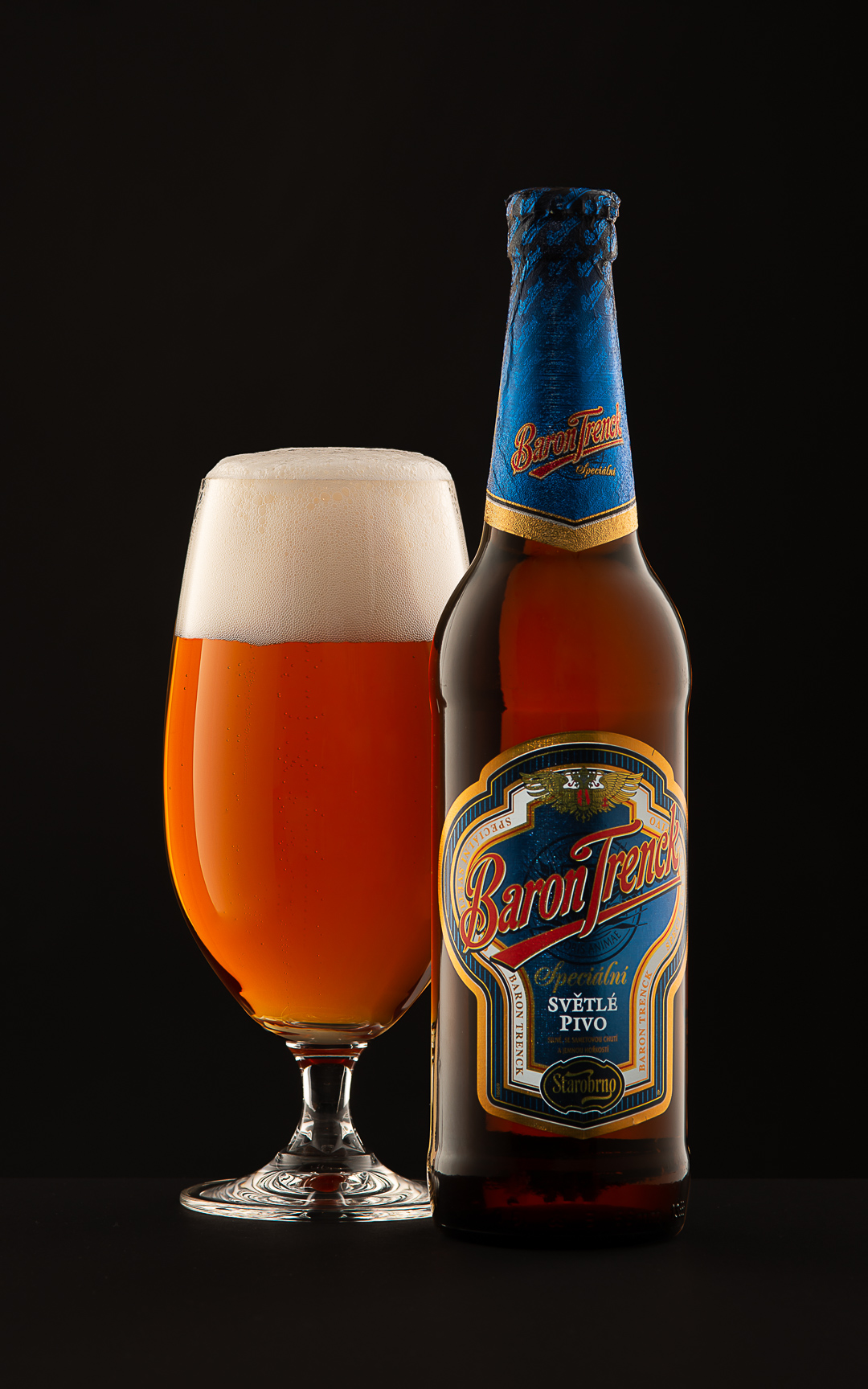 Baron Trenck beer - food and beverage photography