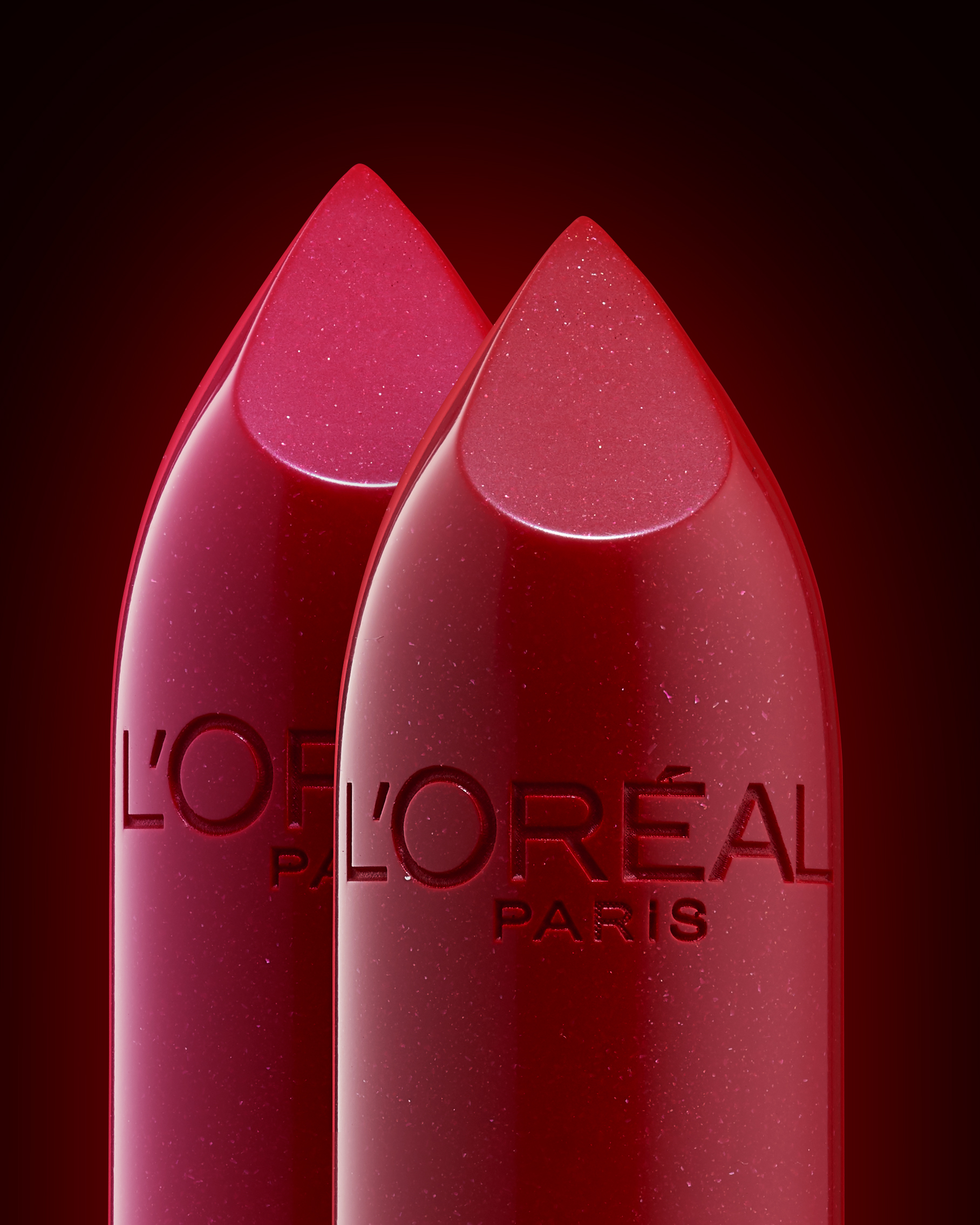 L'Oréal Paris Lipstick - product photography