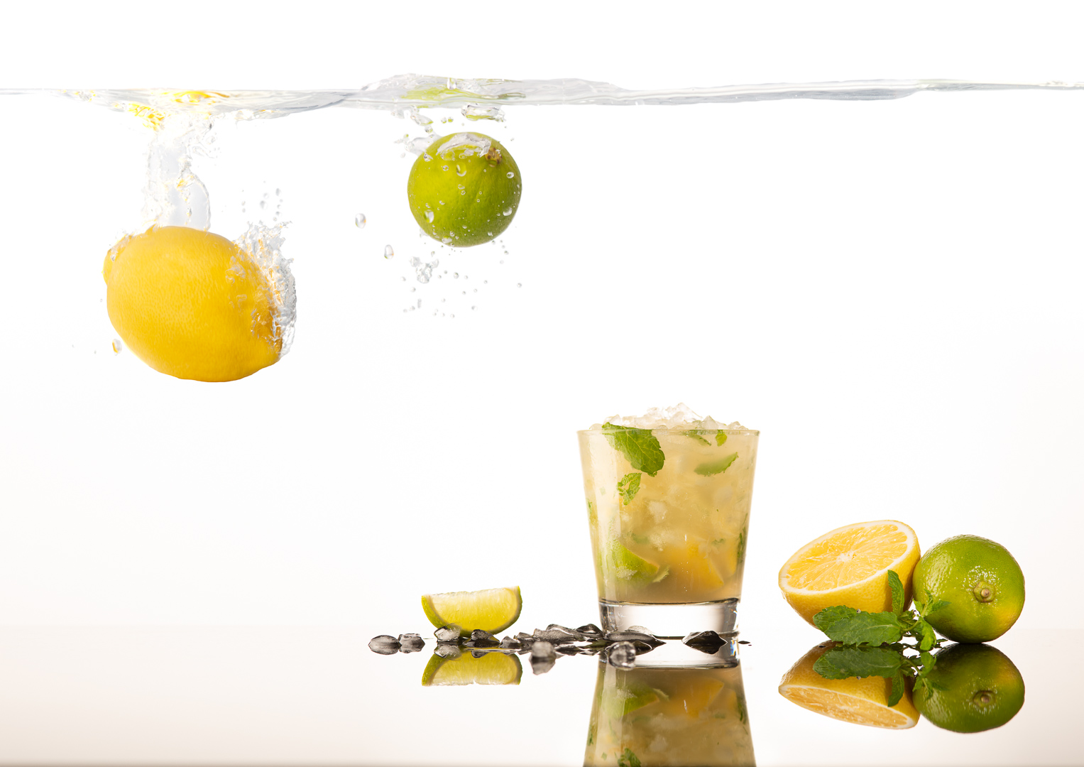 Mojito - food and beverage photography