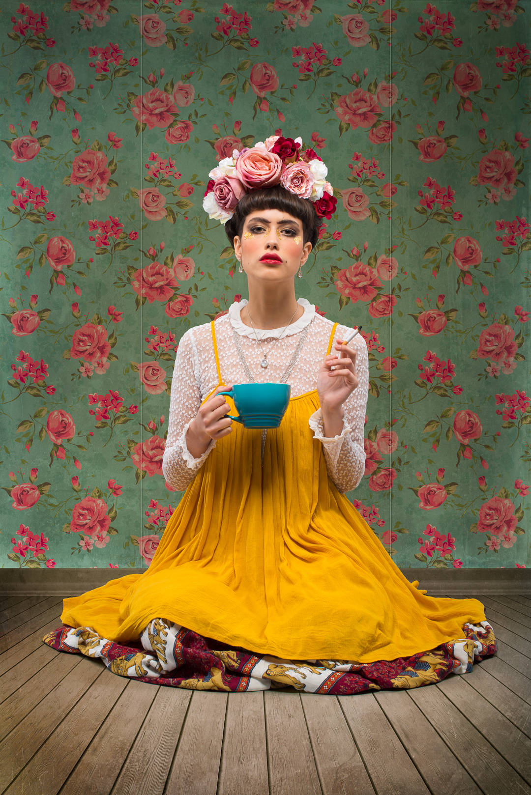 Vanessa as Frida Kahlo
